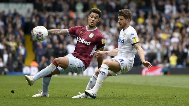 Leeds United membiarkan Villa mencetak gol di pertandingan Championship