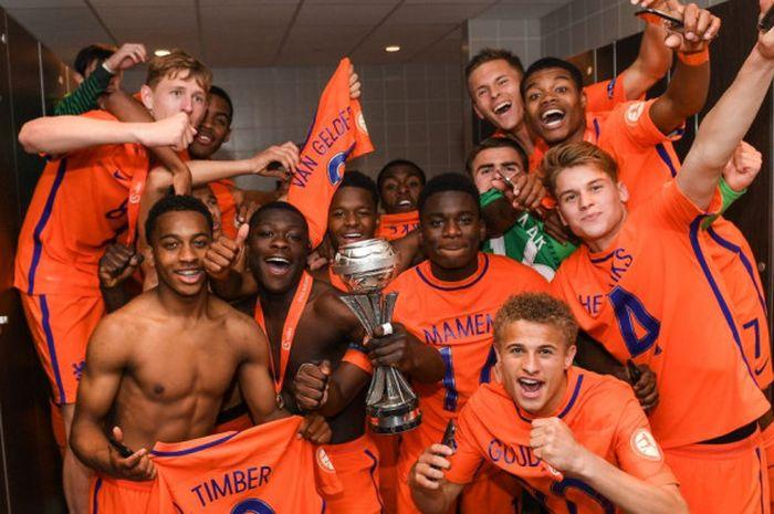 Belanda U17 mencapai perempat final Kejuaraan Eropa setelah kemenangan meyakinkan atas Inggris