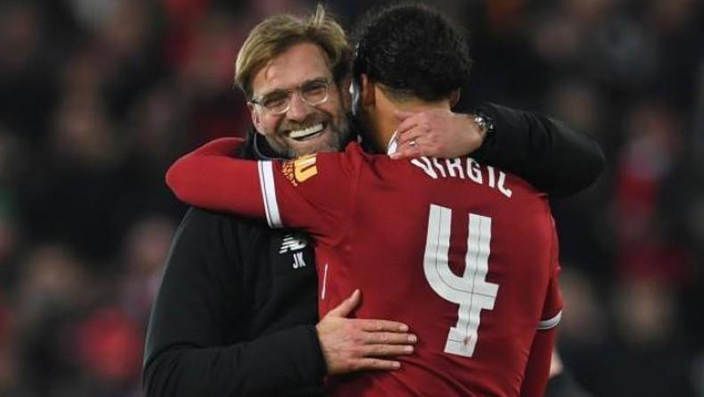 Klopp dan Van Dijk tetap Bangga meskipun gelar di kandas oleh Liverpool