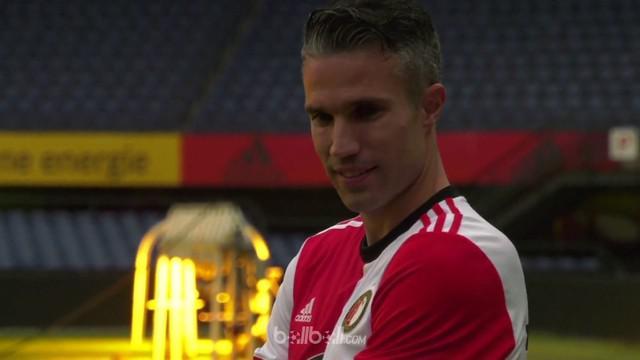 Van Persie, akan pensiun setelah pertandingan terakhir melawan ADO Den Haag