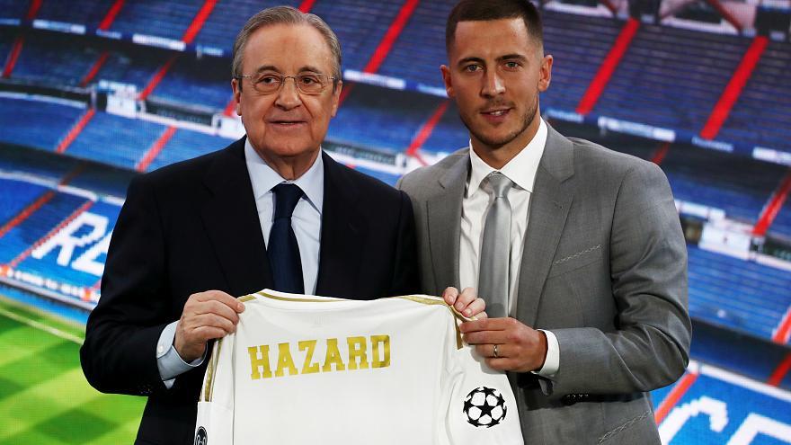 Eden Hazard Bakal Jadi Pemain Terbaik di Real Madrid