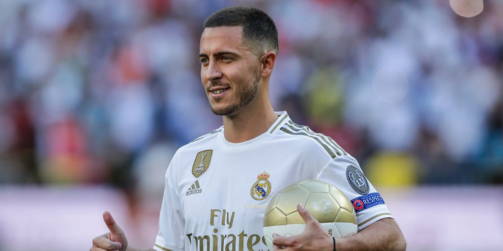 Eden Hazard Di Percaya Oleh Real Madrid