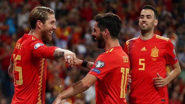Hasil Pertandingan Spanyol Vs Swedia skor 3-0