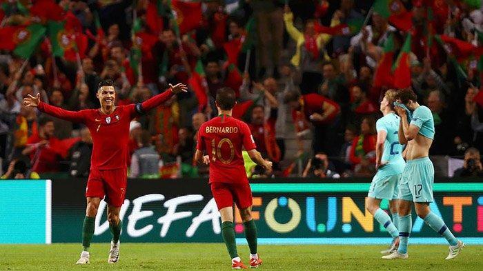 Hasil Pertandingan Portugal Vs Belanda Skor 1-0